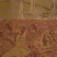 Antique Verdure Tapestry, French, Decorative Panel, Wall Covering, Victorian (8 of 12)