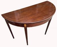 Superb Pair of George III Mahogany Console Tables (8 of 10)