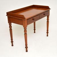 Antique Victorian Mahogany Writing  Table / Desk (2 of 9)