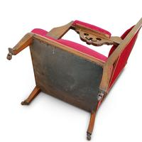 Two Arts & Crafts Fireside Chairs on Castors (8 of 13)