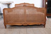 King Size Louis XV Style Caned Bed (3 of 9)