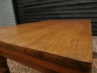 Lovely 19th century pine small farmhouse style kitchen dining table (9 of 12)