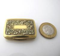 Wonderful cast silver-gilt vinaigrette Samuel Pemberton Birmingham 1816 (10 of 11)