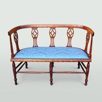 Edwardian Mahogany Salon Suite (2 of 7)