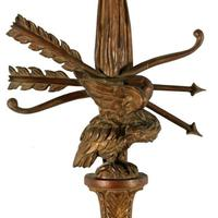 Large Carved Giltwood Wall Sconce (5 of 8)