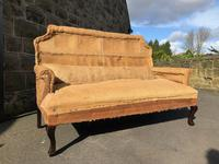 Antique English Upholstered Sofa for Recovering (7 of 7)
