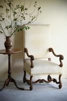 French Walnut Open Armchair (10 of 12)