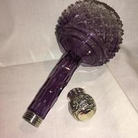 Stunning Shaded Amethyst Cut Crystal Scent (5 of 6)