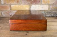 Large Flamed Mahogany Collectors Box 1880 (3 of 8)