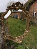 Large Gilt Cushion Mirror (9 of 9)