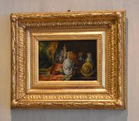 Pair of Still-life Oil Paintings by A Bonnefoy (11 of 13)