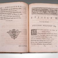 Antique Poetry Book, English, Leather Bound, Poems, John Gay, Georgian, 1720 (10 of 12)