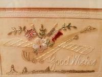 Early 20th century embroidered silk greetings cards (13 of 16)