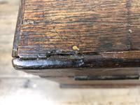 19th Century Oak Box Belonging to Henry Hanmer MP (6 of 14)
