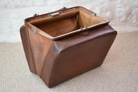 Edwardian Leather Travel Case by H.Greaves New Street Birmingham (6 of 10)