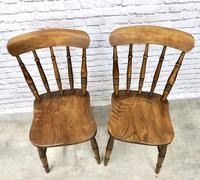 Pair of Antique Windsor Spindleback Chairs (4 of 6)