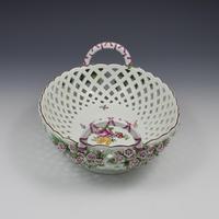Fine Large Chelsea Red Anchor Porcelain Basket c.1750-1758 (4 of 18)