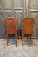 Pair of Fine Quality Regency Hall Chairs (5 of 7)