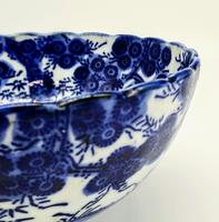 Antique Porcelain Chinese Blue & White Bowl (5 of 6)
