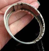 Victorian silver cuff bangle, Aesthetic (12 of 15)