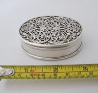 Impressive Victorian silver table snuff box Henry William Dee London 1877 (2 of 13)