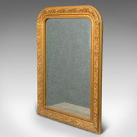 Antique Wall Mirror, English, Gilt Gesso, Neo Classical Revival, Victorian, 1900 (7 of 8)