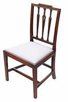 Set of 6 Georgian Mahogany Dining Chairs 19th Century c.1820 (4 of 7)