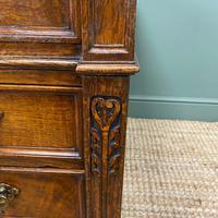 Stunning Victorian Maple & Co Antique Oak Pedestal Desk (3 of 9)