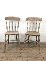 Set of Four Antique Kitchen Chairs (9 of 11)