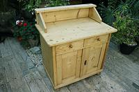 A Rare, Old Pine Sideboard/ Cupboard/ Desk/ Baby Changing Unit (2 of 11)