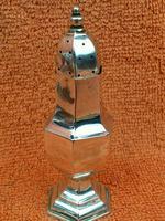 Antique Sterling Silver Hallmarked Pepper Shaker 1909 Henry Matthews (2 of 8)