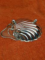Antique Sterling Silver Hallmarked Shell Butter Dish 1906 The Alexander Clark Manufacturing Co Birmingham (8 of 10)