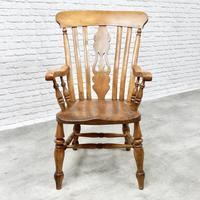 Large Windsor Lyreback Armchair