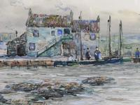 Watercolour Lower Largo Scotland (9 of 10)