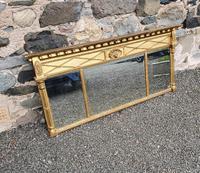 Fine Regency Giltwood Overmantle Mirror (2 of 6)