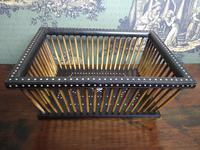 Anglo Indian Porcupine Quill Basket c.1870