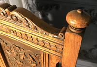 Pair of Victorian Oak Hall Chairs (8 of 17)