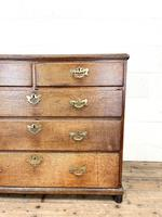 Georgian Antique Oak Chest of Drawers (2 of 10)