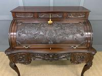 Maple and Co. Large Mahogany Cylinder Desk (16 of 25)