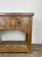 Reclaimed Wooden Sideboard with Two Drawers (3 of 10)