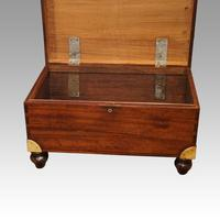 Victorian Mahogany Military Chest (14 of 14)