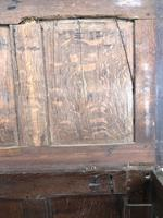 18th Century Oak Coffer with Inlay (6 of 13)
