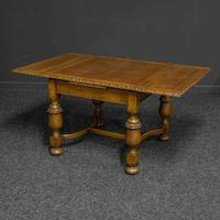 Oak Draw-leaf Table