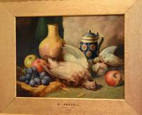 Superb still life oil painting by Richard Ansdell RA (5 of 8)