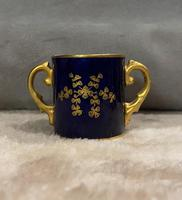 Miniature Coalport Hand Painted & Guilded Loving Cup (3 of 6)