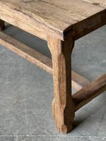 Normandy Oak Farmhouse Table & Bench Set (8 of 19)