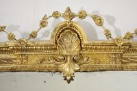 19th Century Gilt Overmantle Mirror with Bevelled Plate (4 of 12)