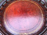 Mahogany Gallery Top Tripod Wine Table (6 of 6)