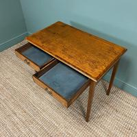 Georgian Country Oak Antique Side Table (6 of 8)