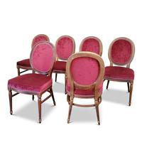 Set of Six Victorian Walnut Balloon Back Chairs (3 of 6)